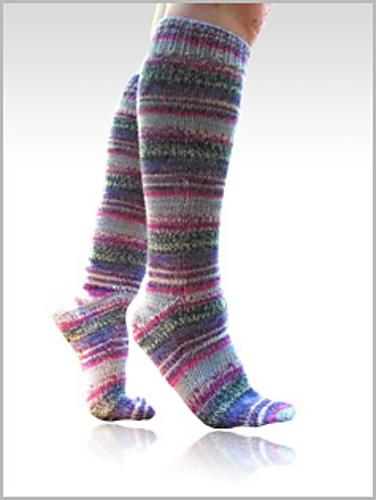 Ravelry Fingering Toe Up Magic Loop Socks Pattern By Liat Gat