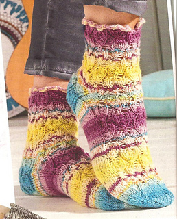 Ravelry Sabrina Special S 2521 100 Socken Stricken Häkeln