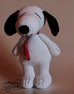 Ravelry: Snoopy the dog pattern by Atelier Handmade