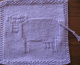 Ravelry Purple Cow Wash Cloth Pattern By Linda Gavaldon