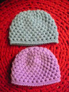 Ravelry Lindevrouws Baby Puff Stitch Crochet Hat Babymutsjes