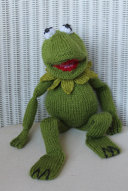 Ravelry Kermit Toy Pattern By Wendy Yarns