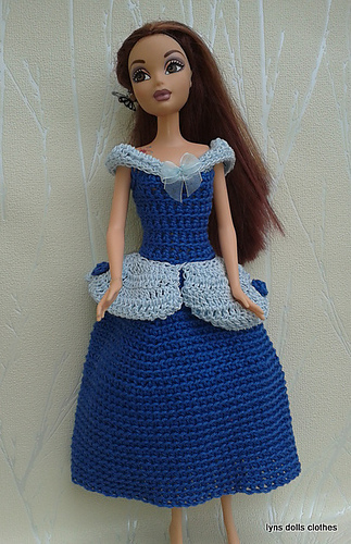 Ravelry Barbie Crochet Princess Dresses Pattern By Linda Mary