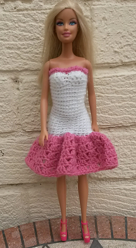 Ravelry Barbie Prom Dresses Pattern By Linda Mary