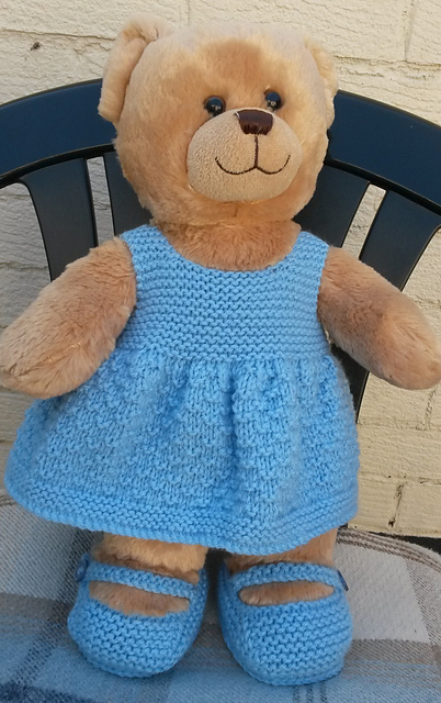 Ravelry Teddy Dress And Shoes Pattern By Linda Mary