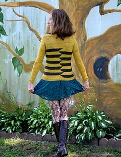 Metamorphosis Cardigan pattern by Linda Wilgus
