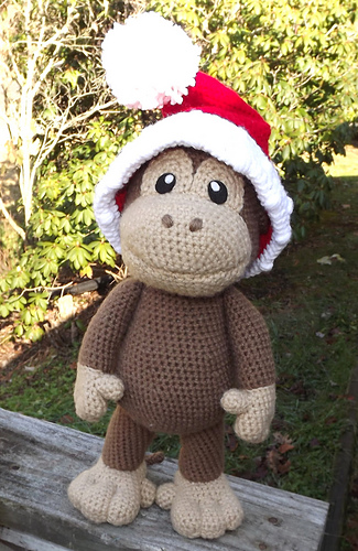 Amigurumi Big Monkey : Ravelry: Large Baby Monkey Amigurumi pattern by Lisa Jestes