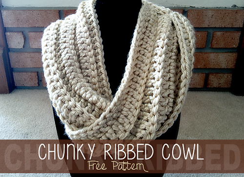 Ravelry Chunky Ribbed Twisted Cowl Pattern By Rebecca Langford