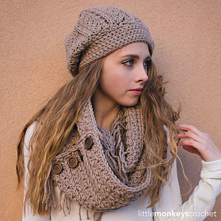 Ravelry  Rustic Slouch Hat pattern by Rebecca Langford d308943be87e