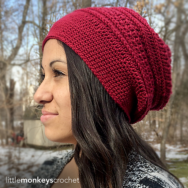 Ravelry Marion Slouch Pattern By Rebecca Langford