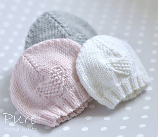 Knitting Pattern Baby Hat 4 Ply : Ravelry: Fay baby hat pattern by Linda Whaley