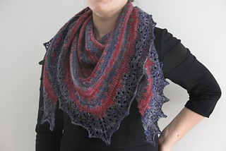 a65a61cc6888d Ravelry  Thieves  Road Shawl pattern by Littletheorem