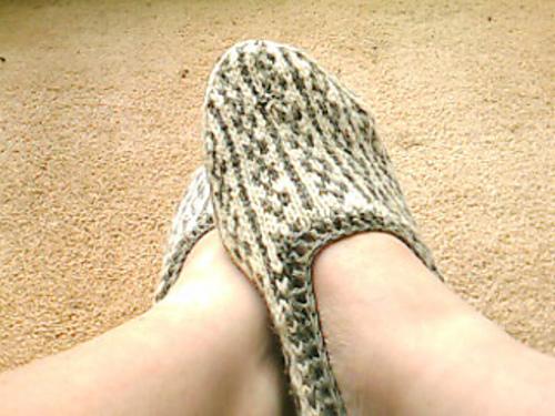 2348f1e98df82 Ravelry: Skøleistur Slippers (Faroe Islands) pattern by Nicolina Jensen