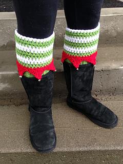 Ravelry Elf Boot Cuffs Pattern By Raelynn Orff