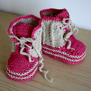 Ravelry: Pattern Baby Twist Booties pattern by Julia Noskova