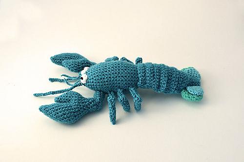Ravelry Blue Lobster Pattern By Joyce Overheul