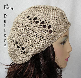 15a7be8fbc4 Ravelry  Spring Fever Slouch Beanie pattern by Martha McKeon