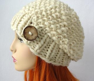 f4fd32f8e5f Ravelry  Poppy Seed Slouch Hat pattern by Martha McKeon