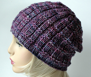545e4efb6d1 Ravelry  Lotus Slouch Beanie pattern by Martha McKeon