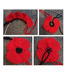 Ravelry knit flat no sew poppy pattern by suzanne resaul suzanne resaul mightylinksfo
