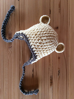 Ravelry  Baby Bear Crochet Hat for Preemie - 12 month old pattern by Lora M 075398291be