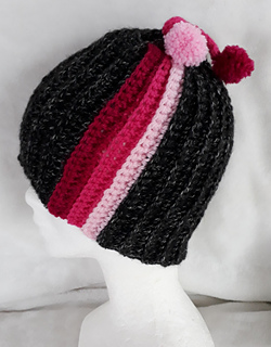 61b369fffb7 Ravelry  Snow Down Atlanta Hat pattern by Janet Brani