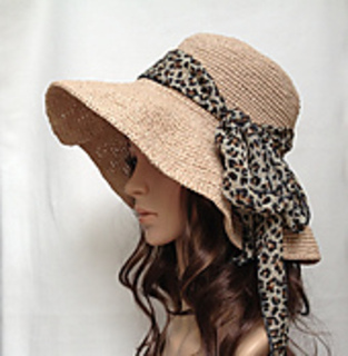 d25509074 Ravelry: Raffia Hat H450 pattern by Shirley Zhu
