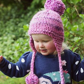 Ravelry  Kelsey Earflap Hat pattern by Julie Taylor 222e46432b2