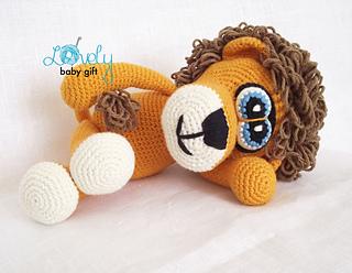 Crochet Amigurumi Lion Patterns : Ravelry: amigurumi lion pattern by viktorija dineikiene