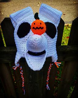 Nightmare Before Christmas Crochet Blanket.Nightmare Before Christmas Zero Inspired Hat Pattern By Lisa Waller