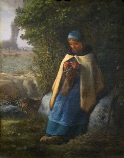_shepherdess_seated_on_a_rock___the_knitter__by_millet__cincinnati_small2