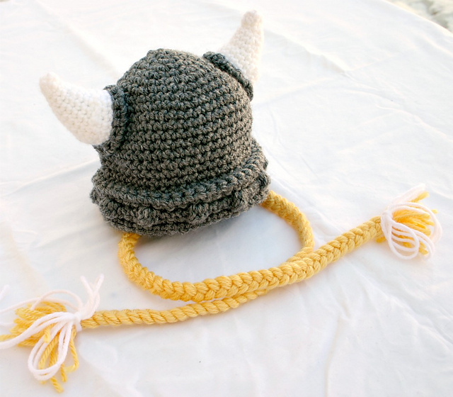 Ravelry Baby And Toddler Viking Hat Pattern By Alaina Smith