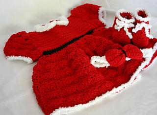eaed3257beb Ravelry  Baby Girl Dress Layette pattern by Alaina Smith