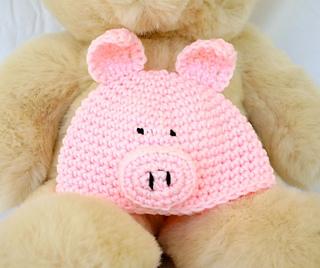 Ravelry  Infant Pig Hat pattern by Alaina Smith 5136237cef8