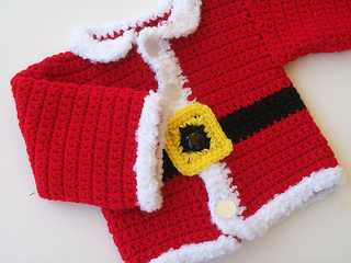 b17aaa81e06 Ravelry  Infant Santa Suit pattern by Alaina Smith
