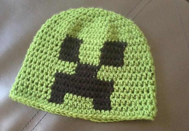 Ravelry Minecraft Creeper Beanie Pattern By Leena Patel