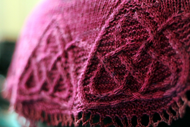 Ravelry Celtic Cable Shawls Patterns
