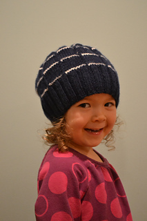 281709356b6 Ravelry  Broken Stripe Hat pattern by Miyoko Cancro
