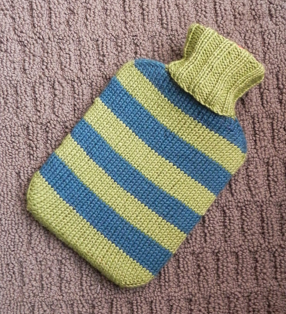 Ravelry Hot Water Bottle Cover Pattern By Lori Utley