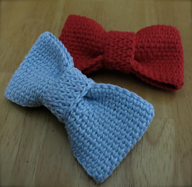 Ravelry Crochet Bowbow Tie Pattern By Lynne Samaan