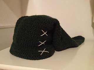Ravelry  Link Hat Pattern (Legend of Zelda) pattern by Angela Strong 7aff5afce1c