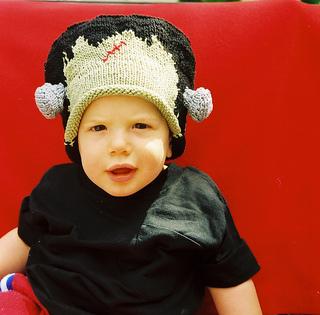 6fe7e630e0b0fb Ravelry: # 011 Frankenstein Hat pattern by Leslie Scanlon