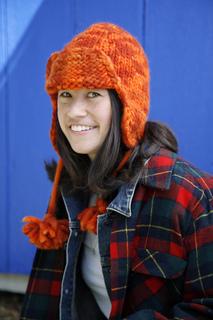 217f54068021d7 Ravelry: # 092 Bulky Flap Hat pattern by Leslie Scanlon