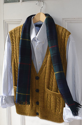 Ravelry Ml186 Men S Best Vest Pattern By Maddy Cranley