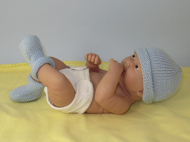 Ravelry Just For Preemies Premature Baby Simple 4 Ply Beanie And