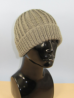 Ravelry  Chunky Simple Fishermans Rib Beanie Hat pattern by ... 3333114f7