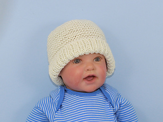 Ravelry  Baby Garter Stitch Beanie Hat and Booties Set pattern by ... 720a1798828