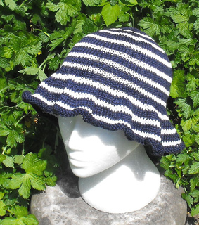 Ravelry  FRENCH FLOPPY HAT pattern by Christine Grant 4fc246ff02b