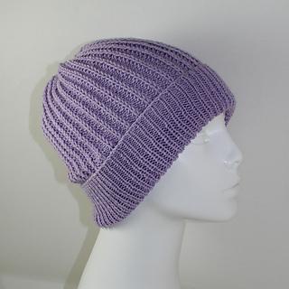 ea4f392123f Ravelry  4 Ply Fishermans Rib Unisex Beanie Hat pattern by Christine Grant