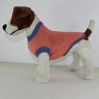 Ravelry: Simple Aran Dog Coat pattern by Christine Grant